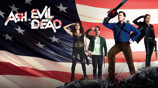 ash vs evil dead official site starz